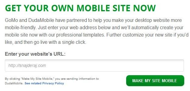 Kako u par koraka napraviti mobilni sajt [BESPLATNO]